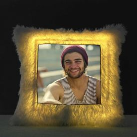 LED Cushion Pillow Personalized With Photo